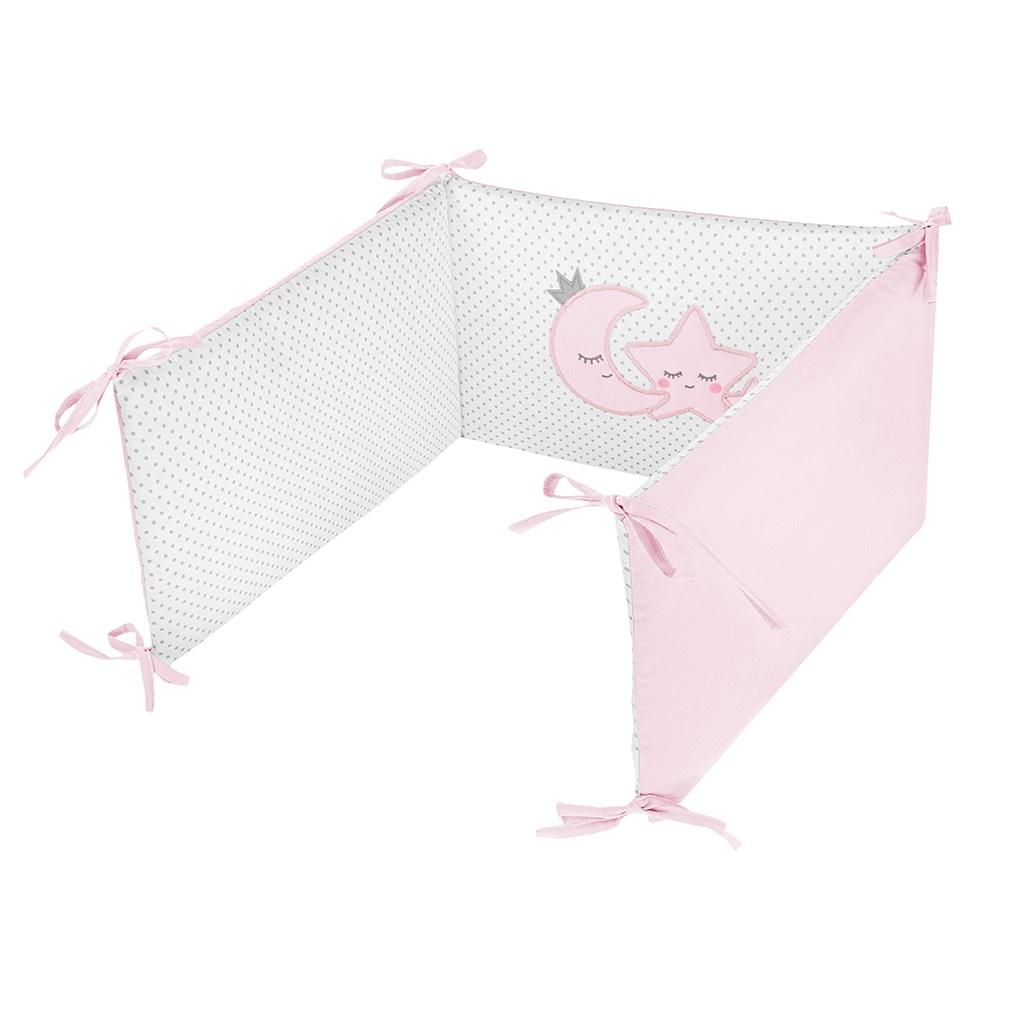 5-dielne posteľné obliečky Belisima Magic Stars 100/135 ružové