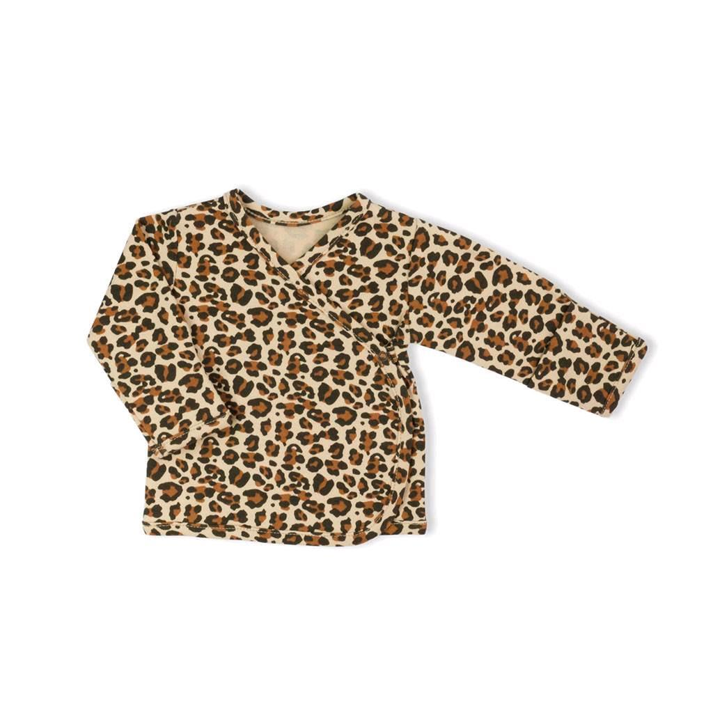 Dojčenská bavlněná košilka Nicol Mia-62 (3-6m)