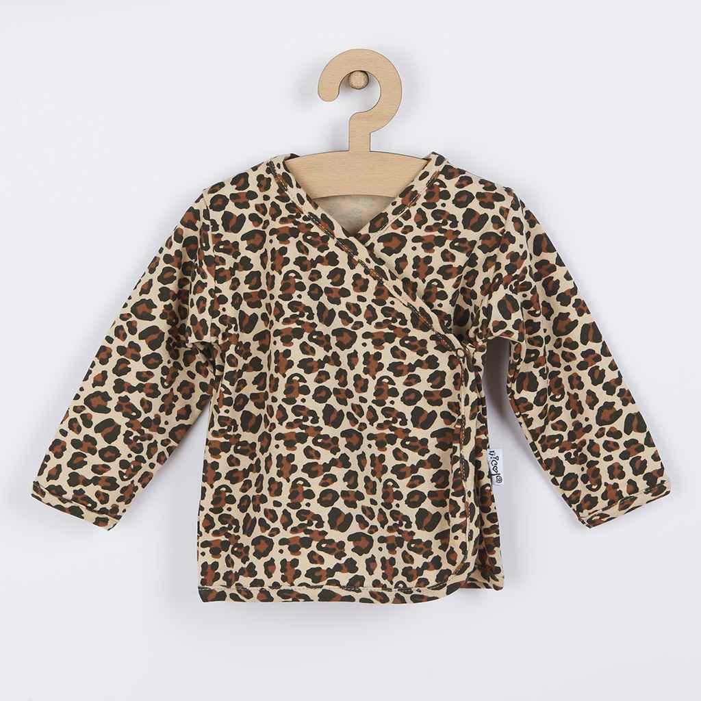 Dojčenská bavlněná košilka Nicol Mia-68 (4-6m)