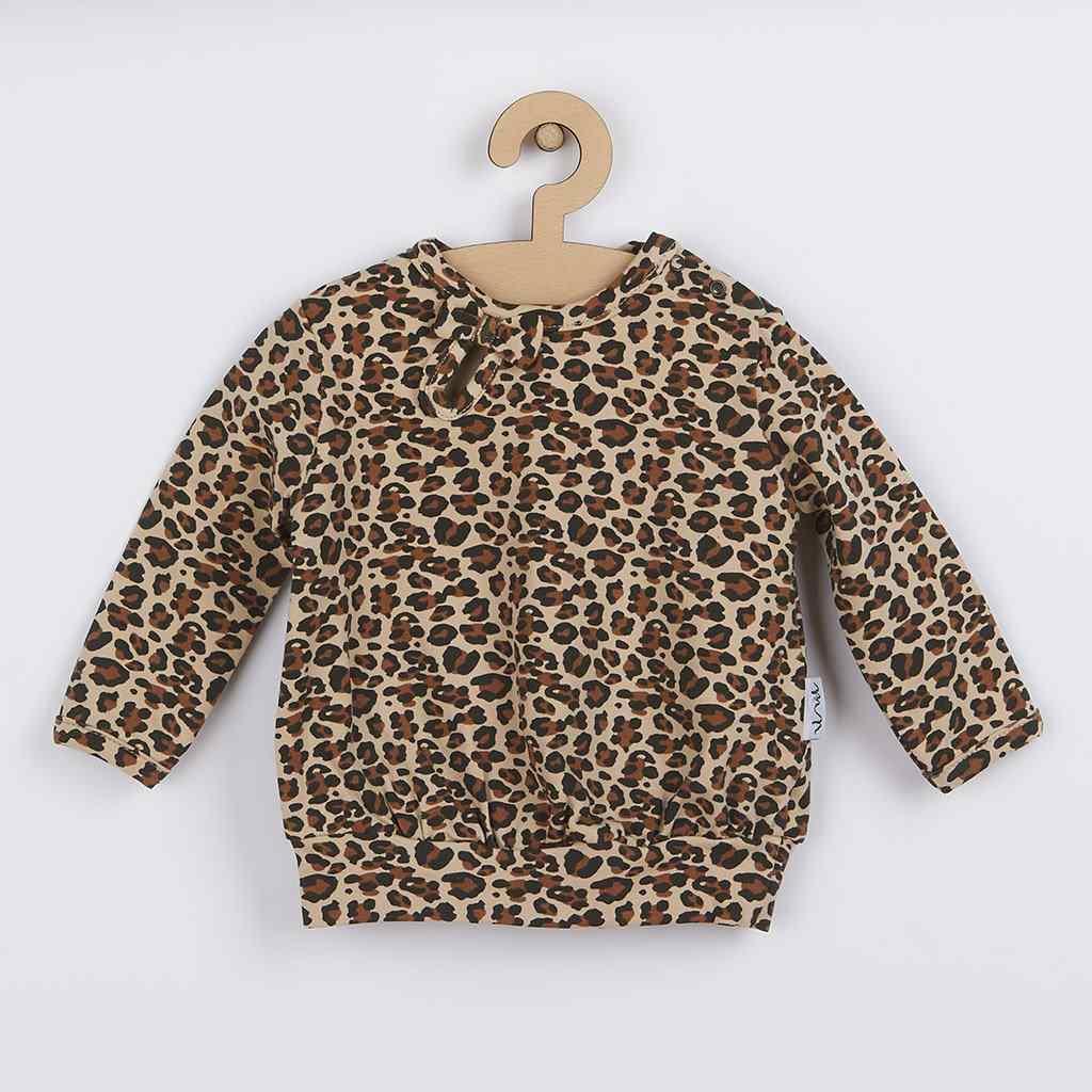 Dojčenské bavlnené tričko Nicol Mia-86 (12-18m)