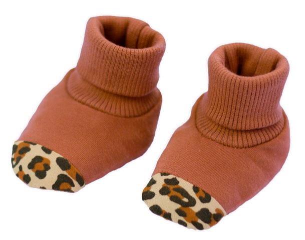 Dojčenské bavlnené capačky Nicol Mia-62 (3-6m)