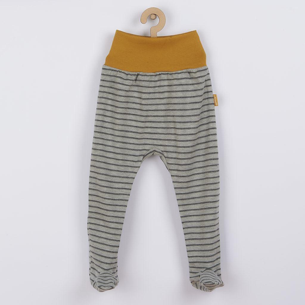 Dojčenské bavlnené polodupačky Nicol Prince Lion-80 (9-12m)