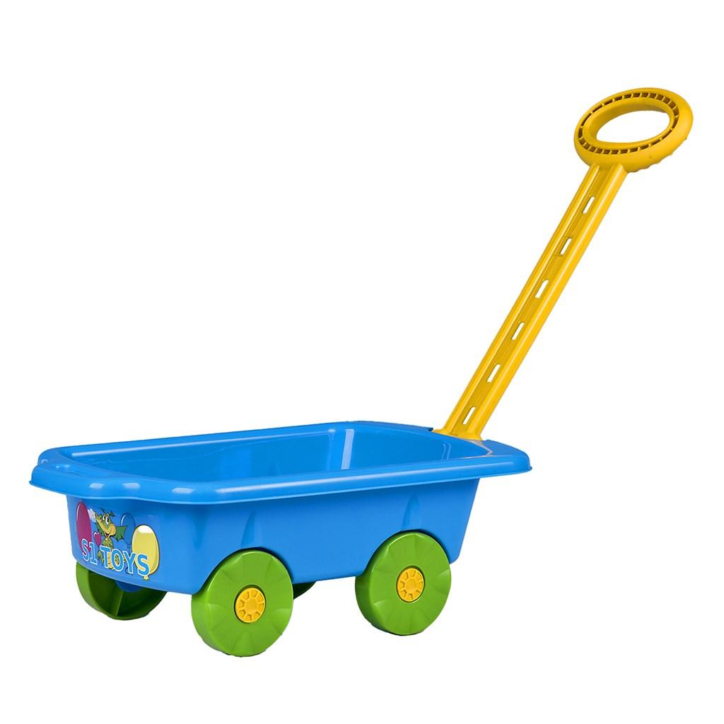 Detský vozík Vlečka BAYO 45 cm modrý
