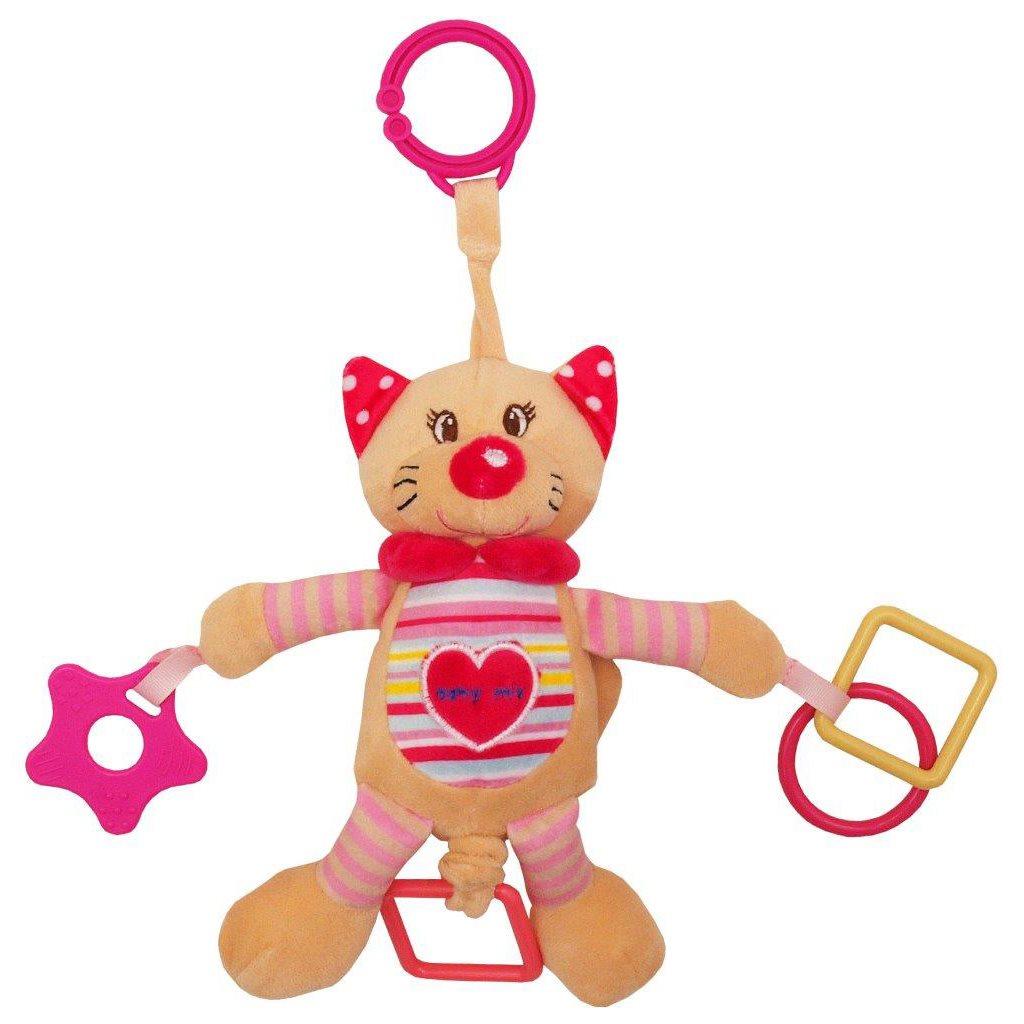 Plyšová hračka s vibráciou Baby Mix mačka