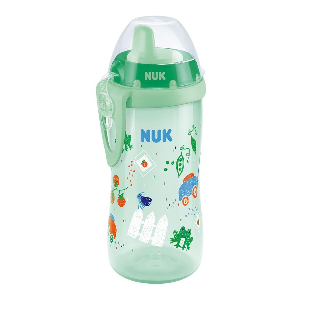 Detská fľaša NUK Kiddy Cup 300 ml chlapec