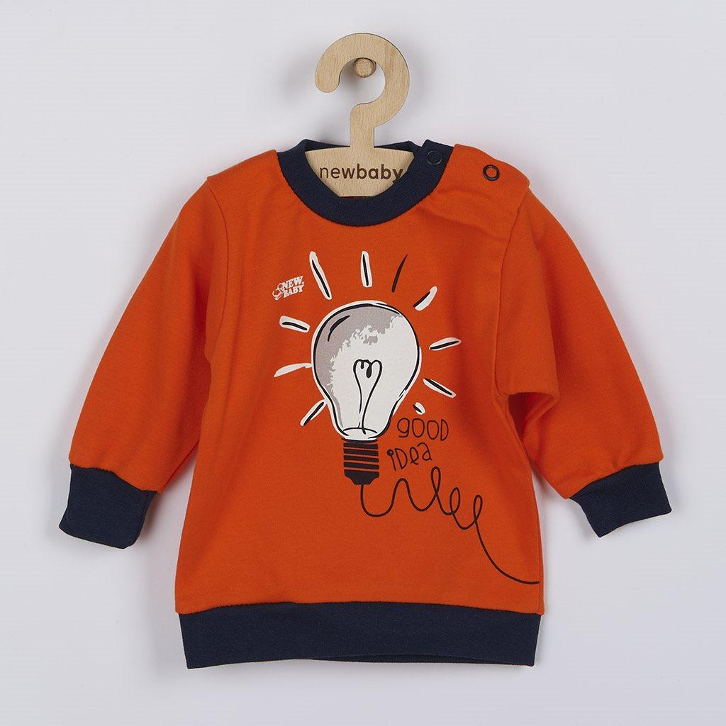Dojčenské bavlnené tričko New Baby Happy Bulbs 80 (9-12m)