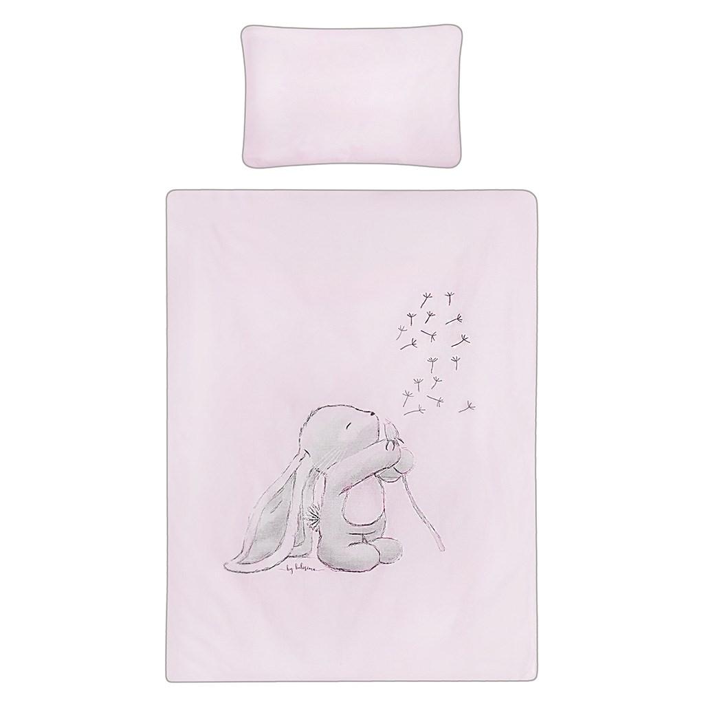 2-dielne posteľné obliečky Belisima ANDRE 90/120 ružové, Ružová