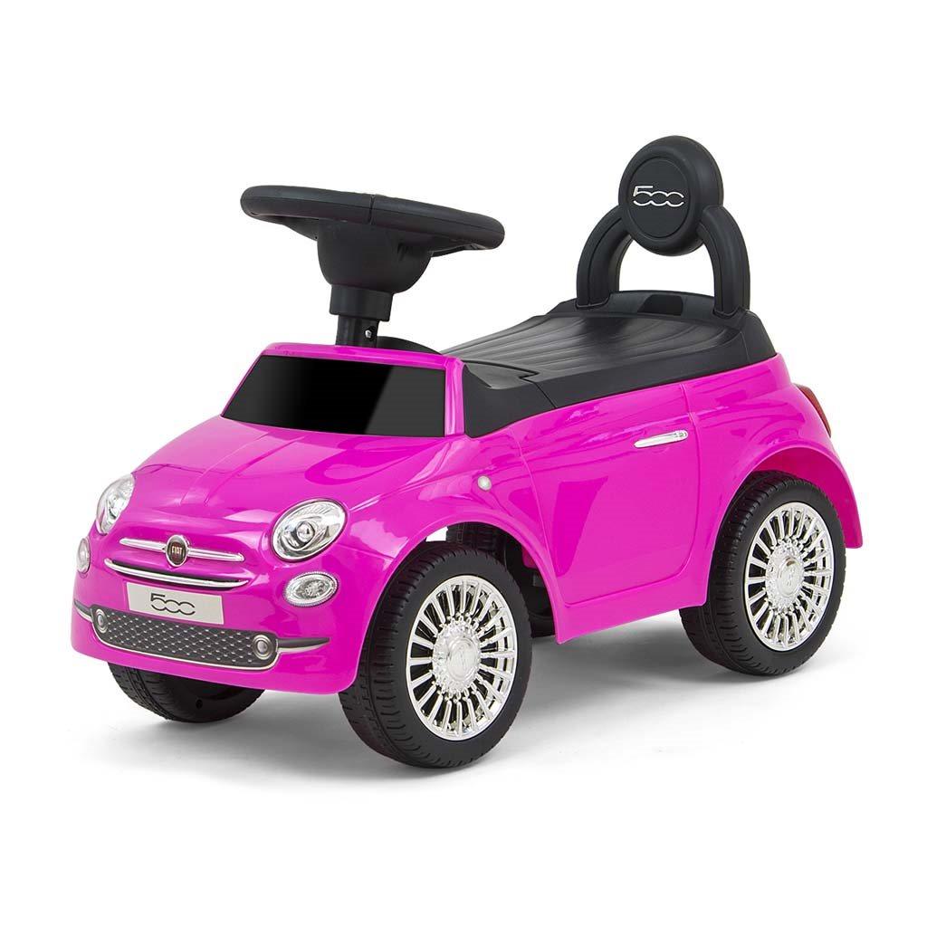 Detské odrážadlo Milly Mally FIAT ružové