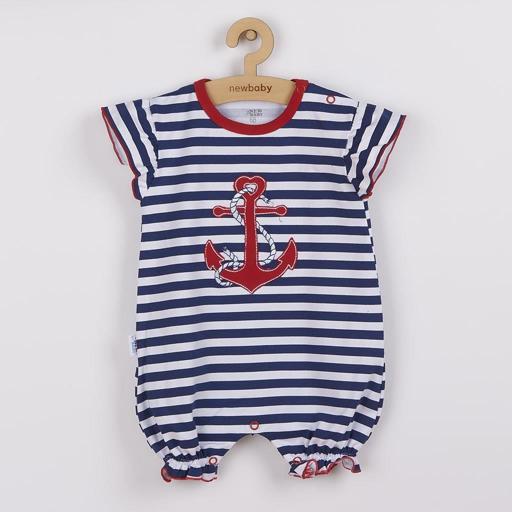 Dievčenský letný overal New Baby Marine