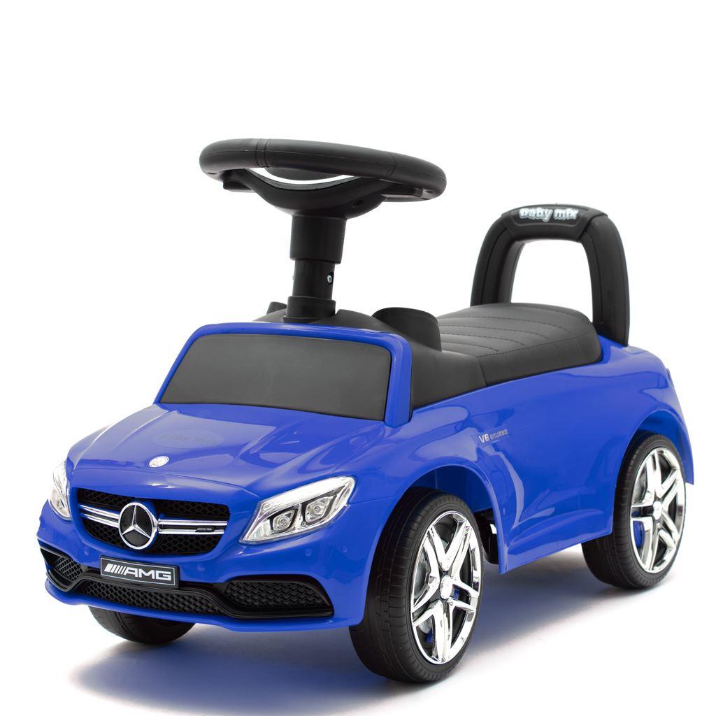Detské odrážadlo Mercedes Benz AMG C63 Coupe Baby Mix modré
