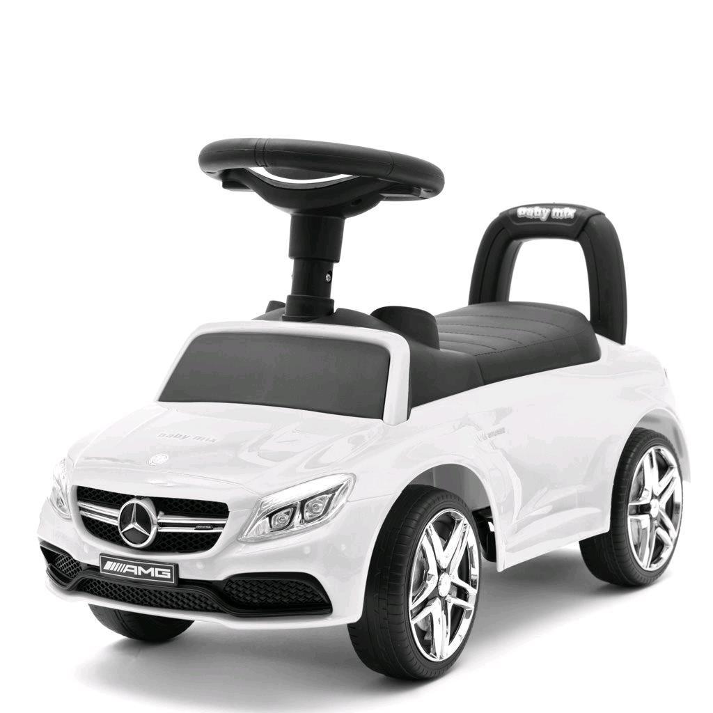 Detské odrážadlo Mercedes Benz AMG C63 Coupe Baby Mix biele