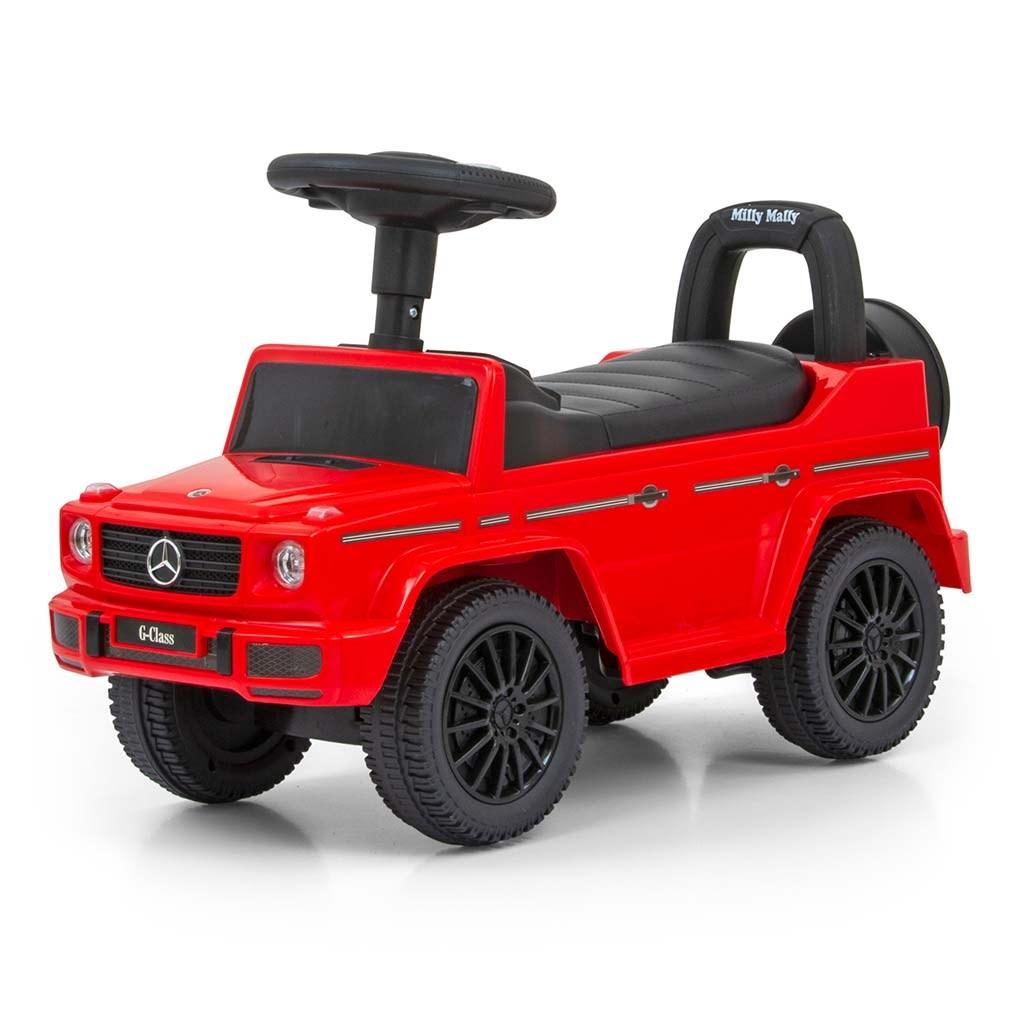 Detské odrážadlo MERCEDES G350d Milly Mally červené