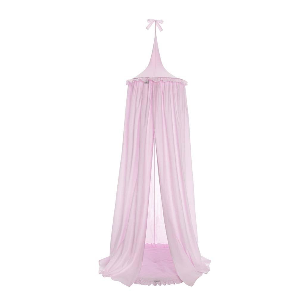 Závesný stropný luxusný baldachýn Belisima ružový