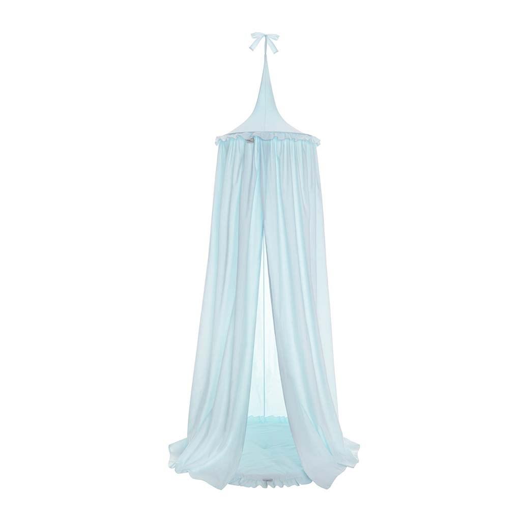 Závesný stropný luxusný baldachýn Belisima tyrkysový