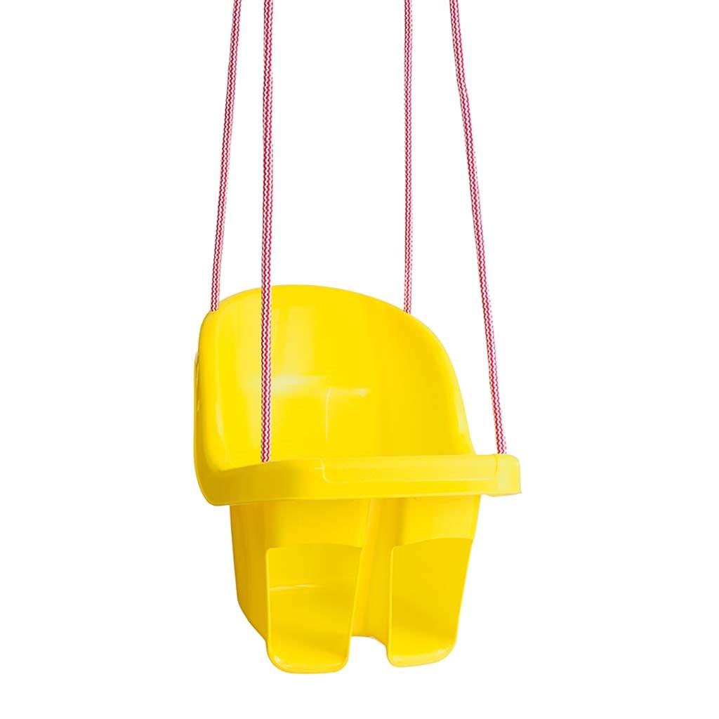 Detská závesná hojdačka Tega žltá
