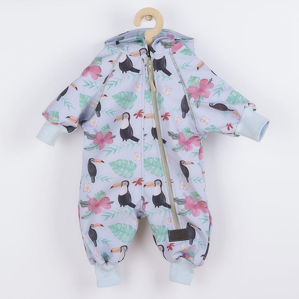 Softshellový dojčenský overal New Baby Tukan 80 (9-12m)
