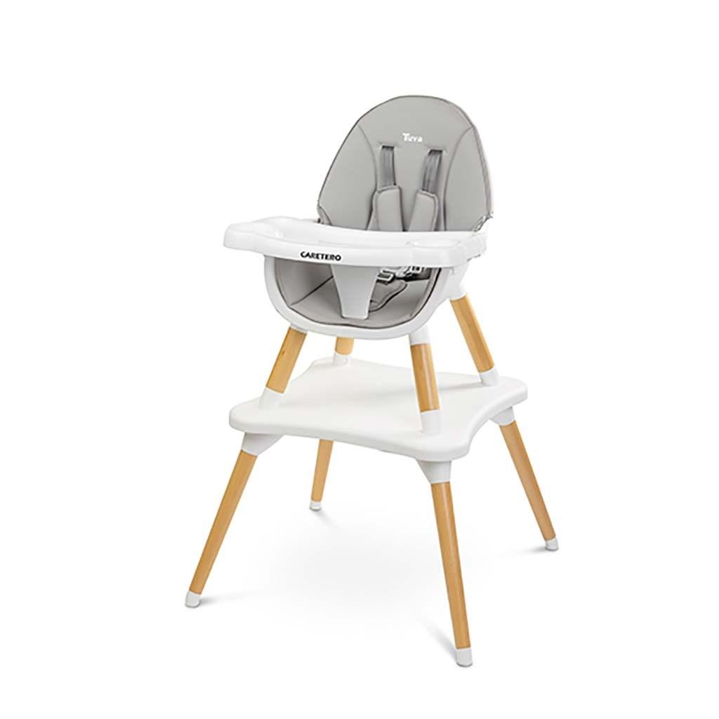 Jedálenská stolička CARETERO TUVA grey