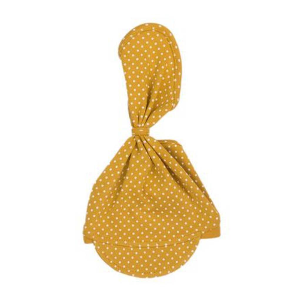 Dojčenská bavlnená čiapočka-šatka Nicol Michelle