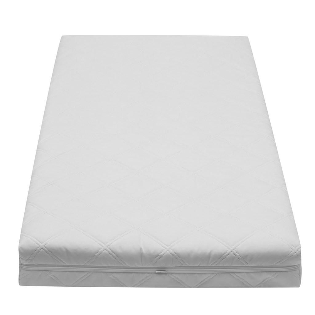 Detský matrac New Baby BIBI KLASIK KLASIK 120x60x10 kokos-molitan-kokos biely