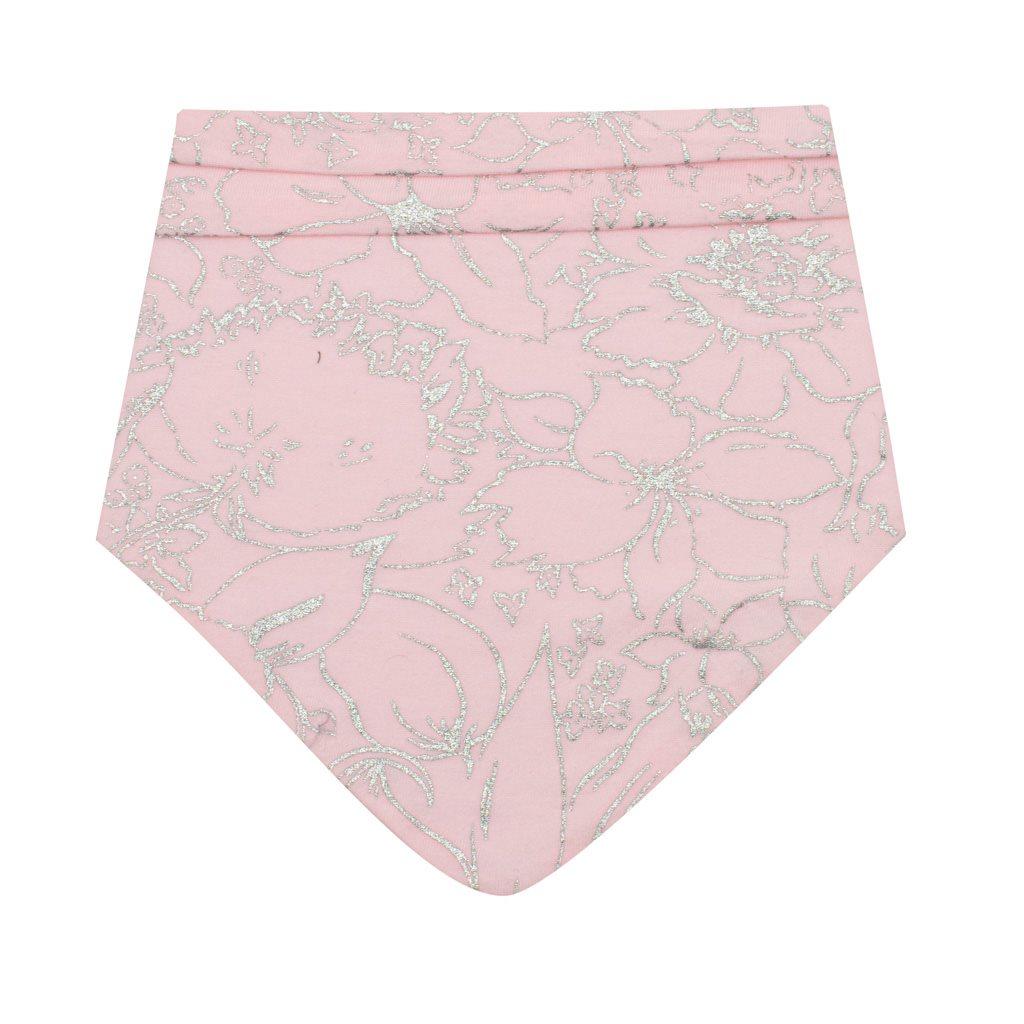 Dojčenská bavlnená šatka na krk New Baby NUNU ružová M