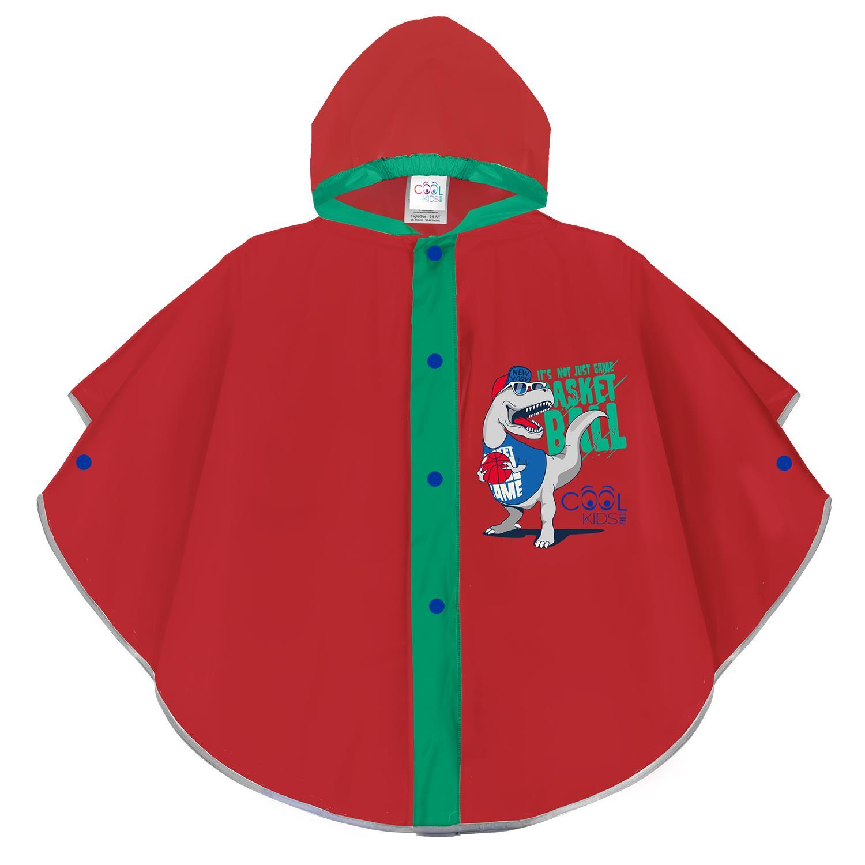 Chlapčenská pláštenka pončo Perletti T-Rex