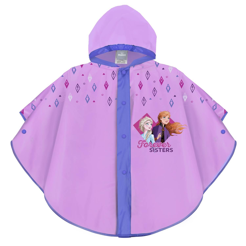 Dievčenské pláštenka pončo Perletti Frozen