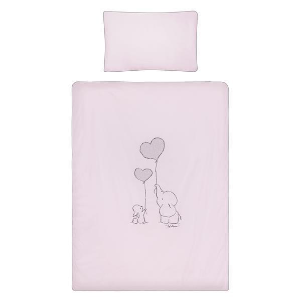 2-dielne posteľné obliečky Belisima Amigo 90/120 ružové