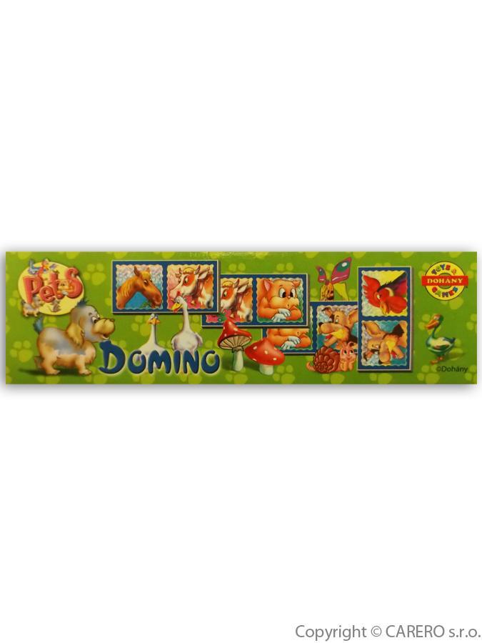 Detské domino malé zvieratká