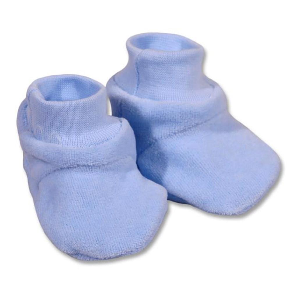 Detské papučky New Baby modré Veľkosť: 62 (3-6m)