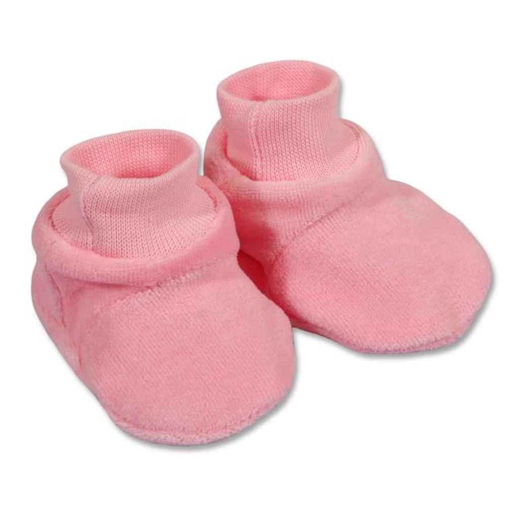 Detské papučky New Baby ružové Veľkosť: 62 (3-6m)