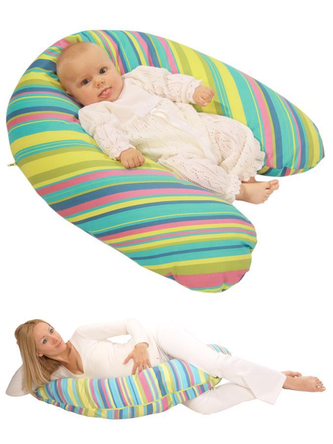 Univerzálny dojčiaci vankúš Womar tyrkysový
