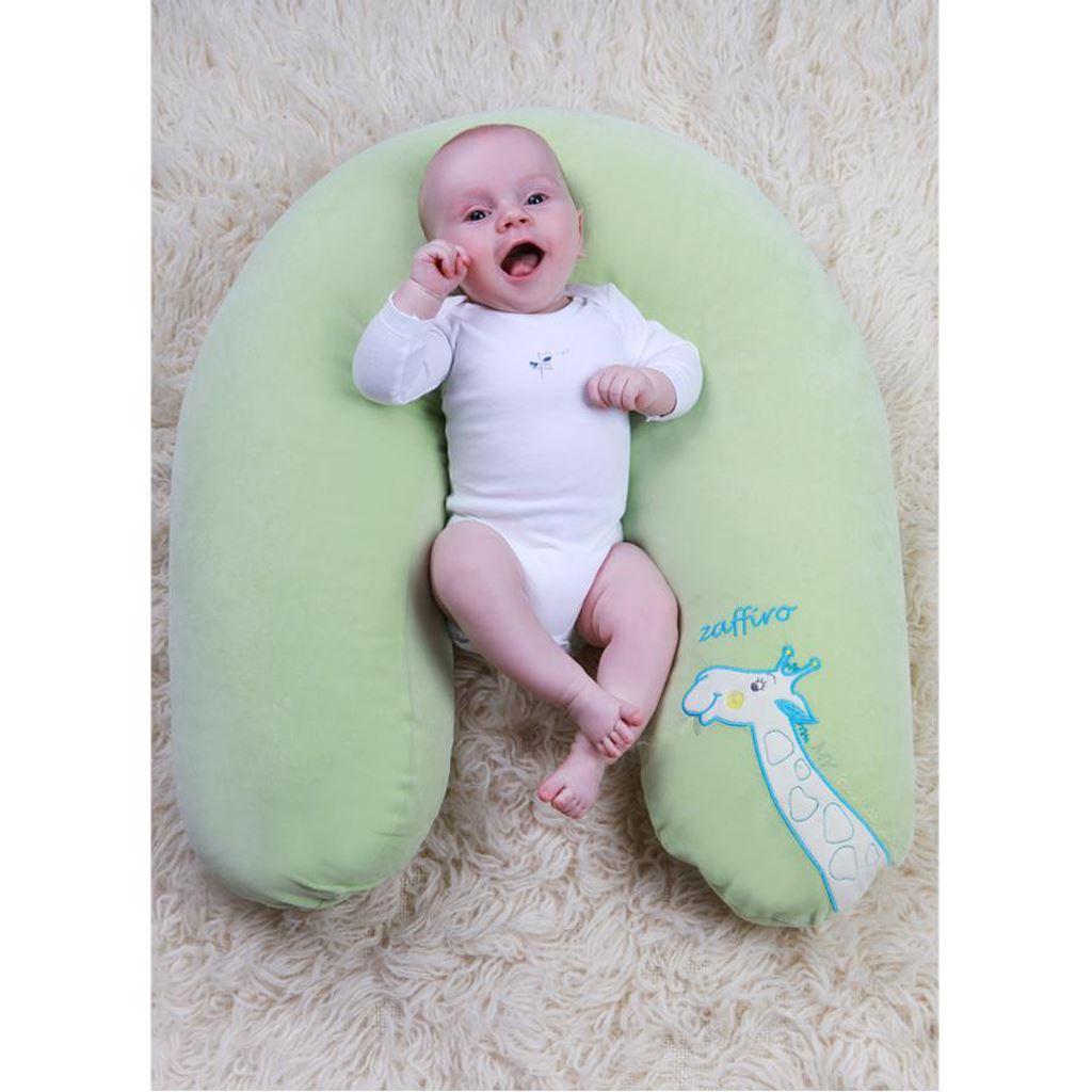 Univerzálny semiškový dojčiaci vankúš Womar sovička ružový