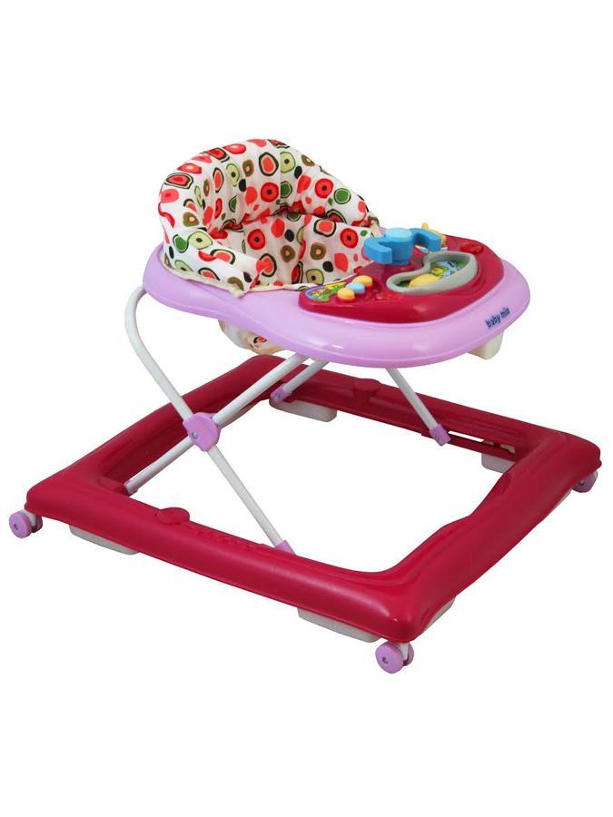 Detské chodítko Baby Mix pink