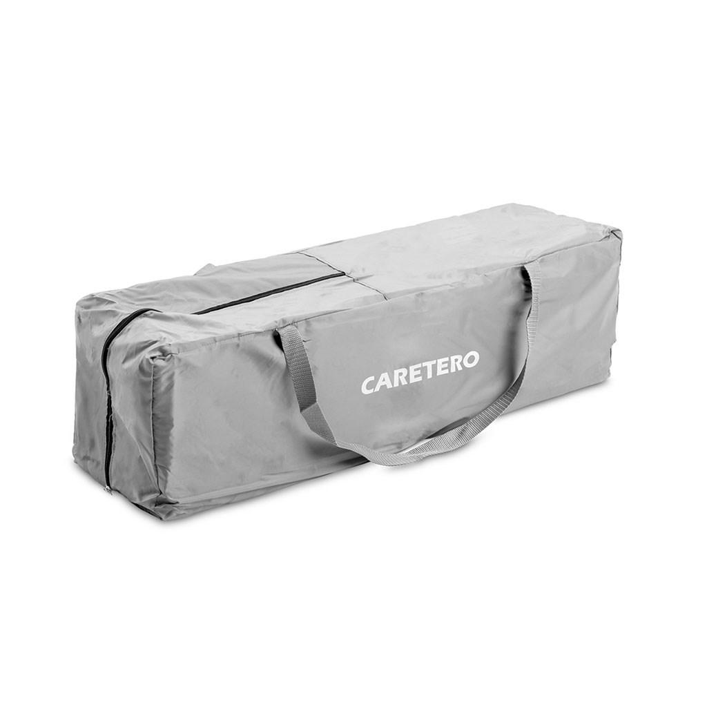Detská skladacia ohrádka CARETERO Quadra grey