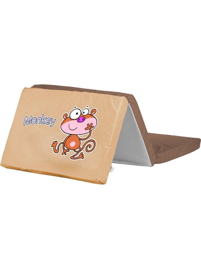 Skladacia matrac do postieľky CARETERO Monkey