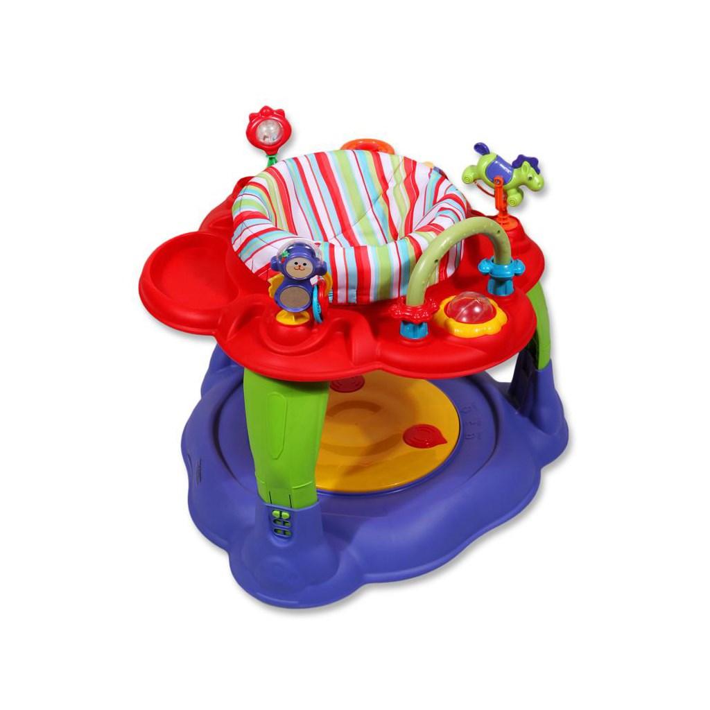 Multifunkčný detský stolček Baby Mix červený