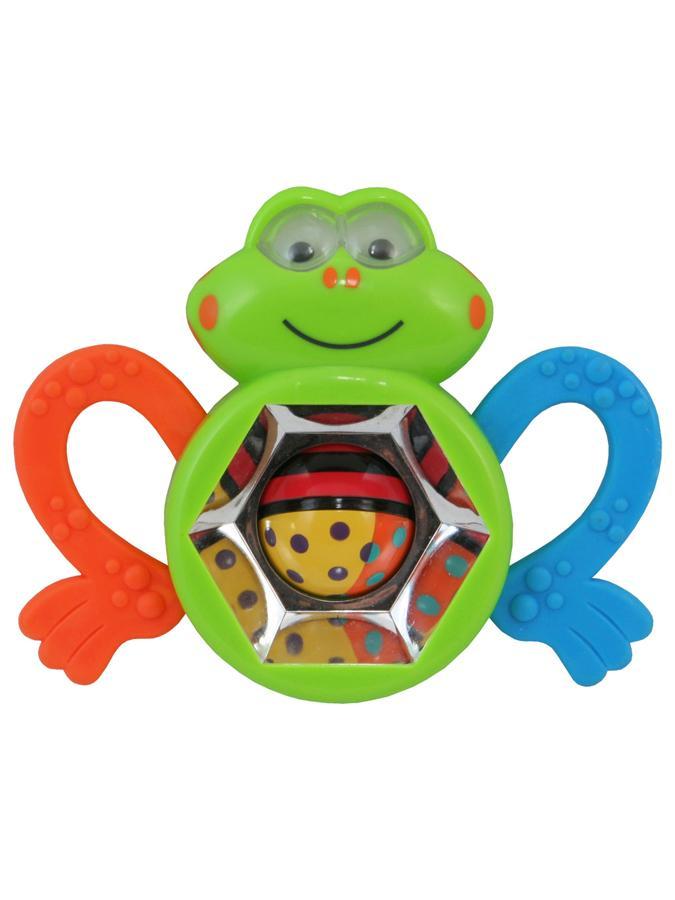 Detská hrkálka Baby Mix žabka