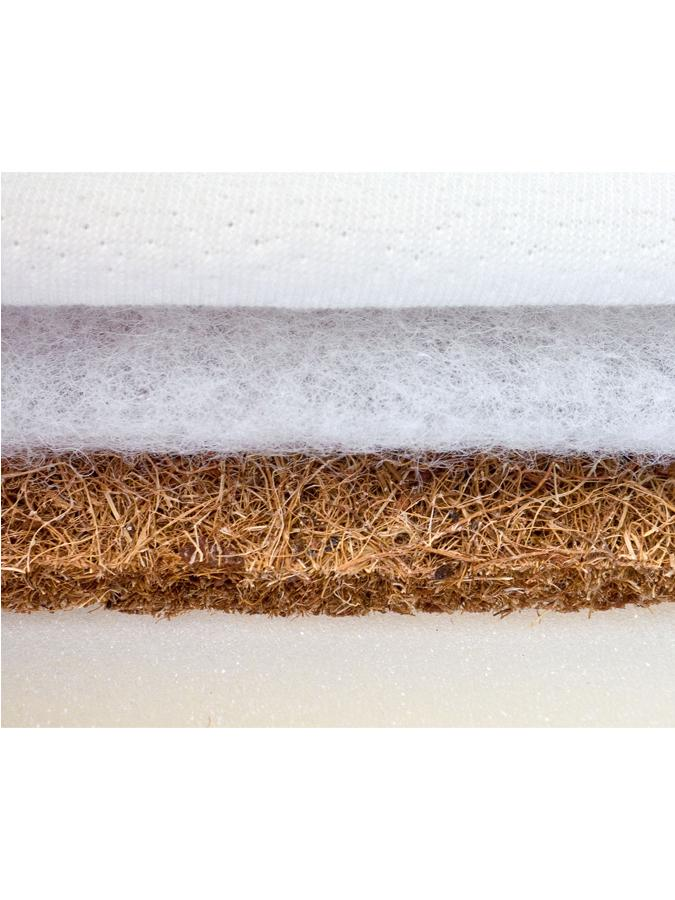 Matrac Sensillo kokos-molitan 120x60 cm