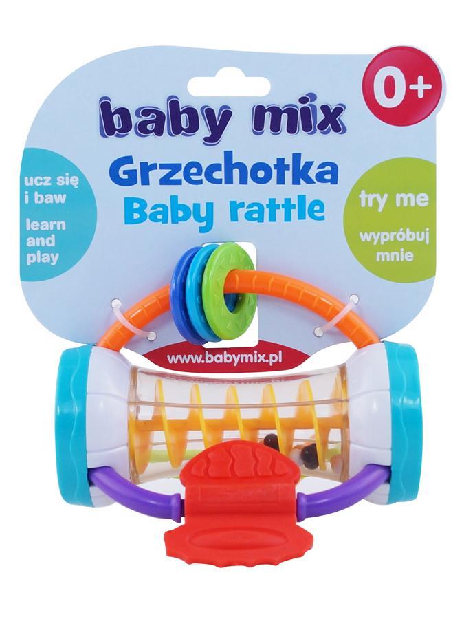 Detské hrkálka Baby Mix farebný valec