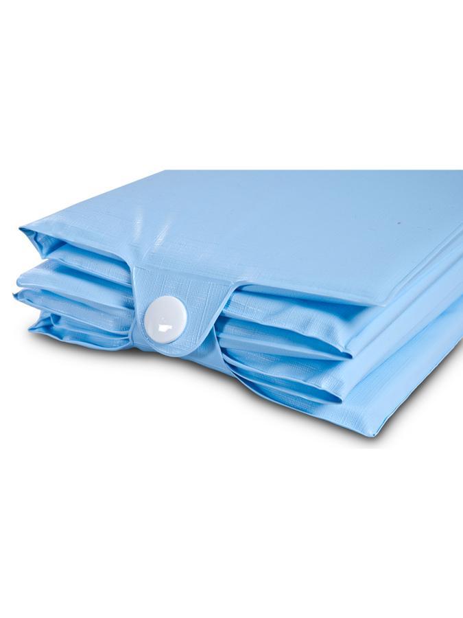 Cestovná prebaľovacia podložka Sensillo modrá