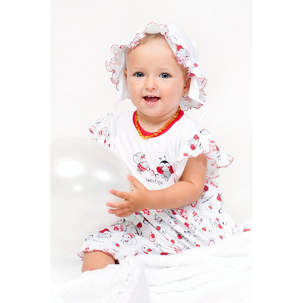 Dojčenské šaty New Baby Lienka 68 (4-6m)