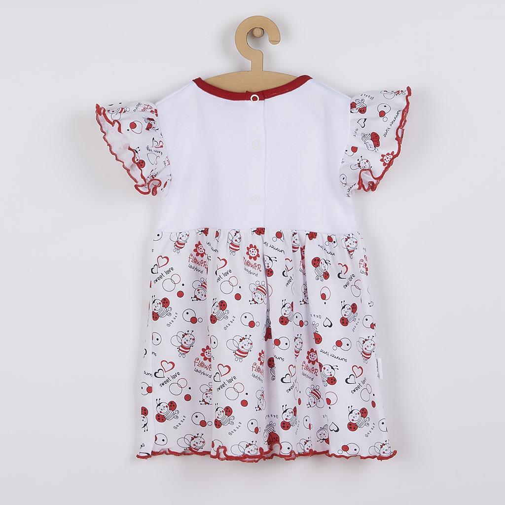 Dojčenské šaty New Baby Lienka 74 (6-9m)