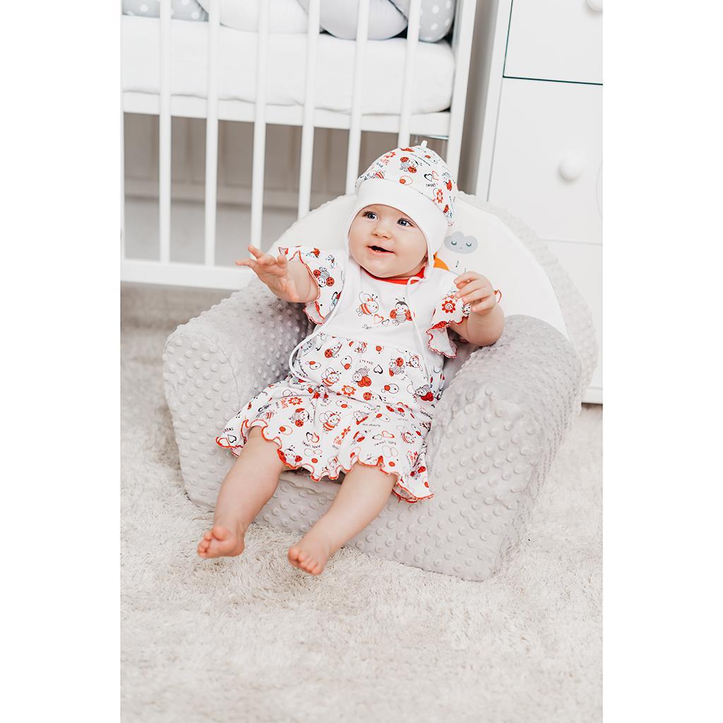 Dojčenské šaty New Baby Lienka 86 (12-18m)