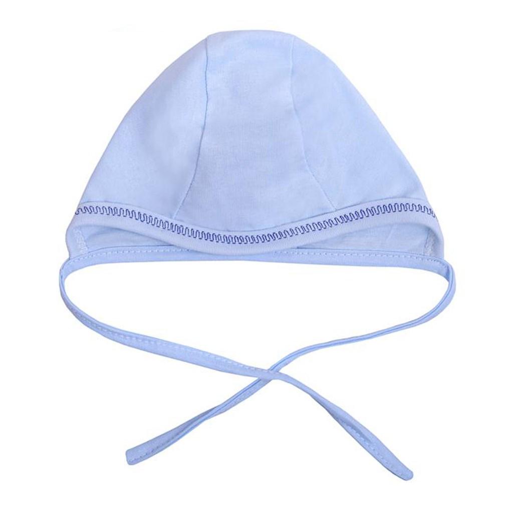 Dojčenská čiapočka New Baby modrá