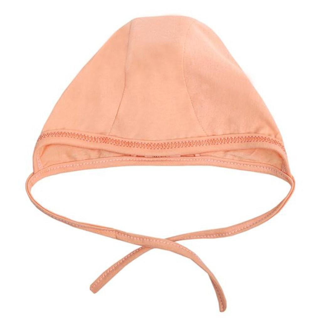 Dojčenská čiapočka New Baby oranžová