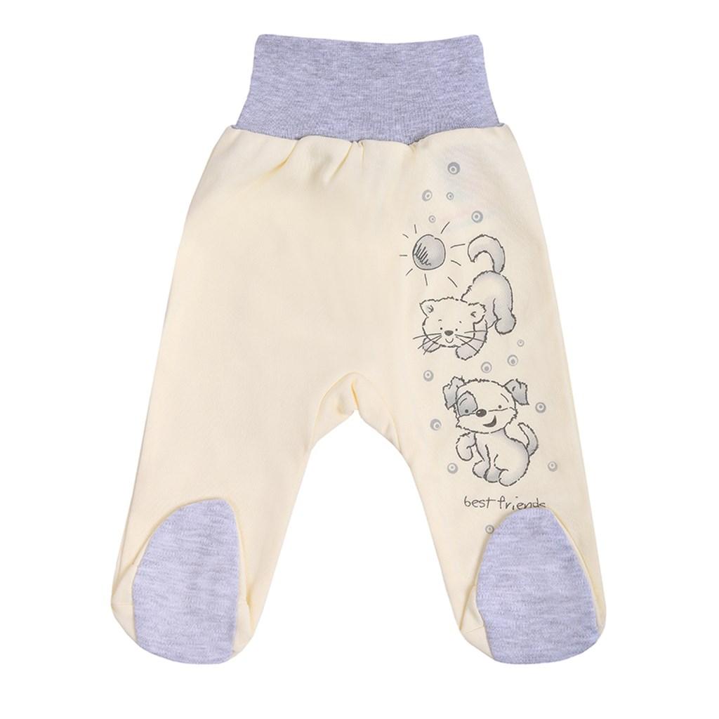 Dojčenské polodupačky New Baby Kamaráti smotanové-86 (12-18m)