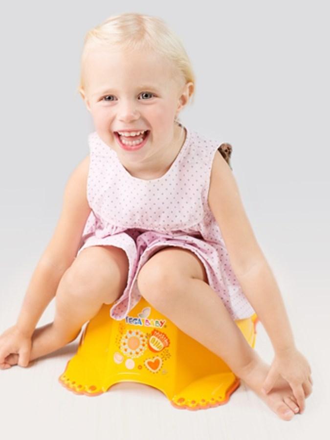 Hrajúci detský nočník protišmykový Malá Princezná biely