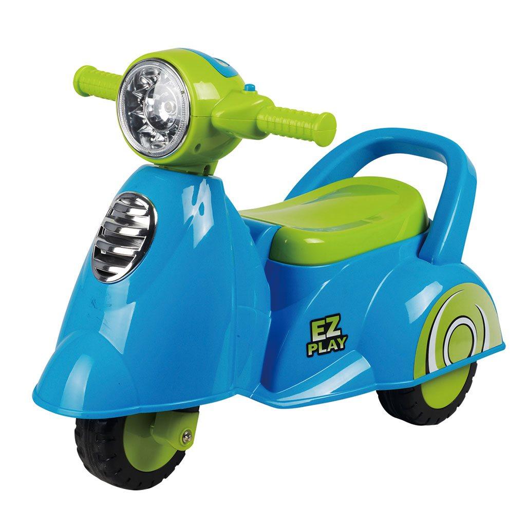 Detské jazdítko so zvukom Baby Mix Scooter blue