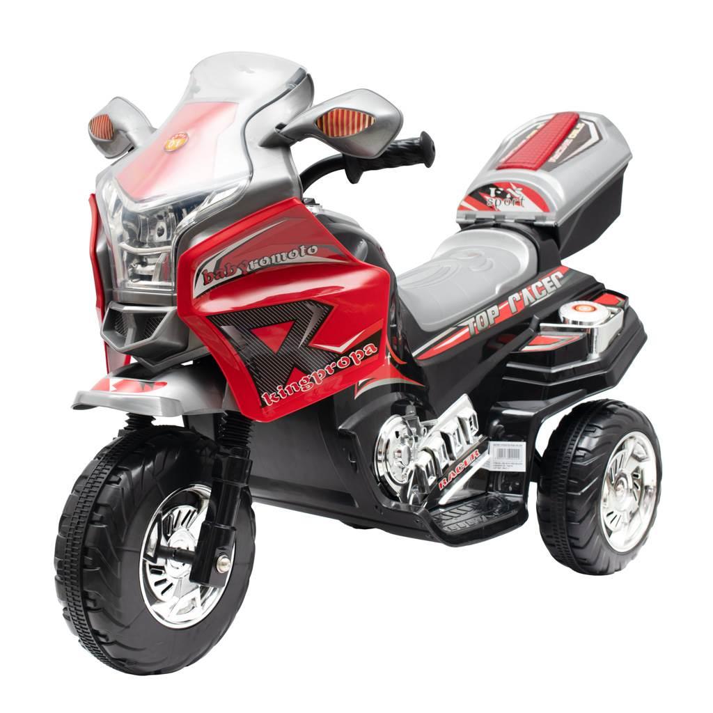 Detská elektrická motorka Baby Mix RACER červená