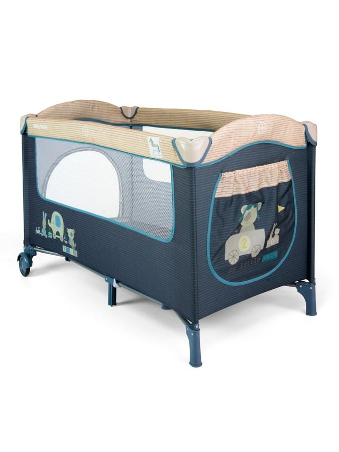 Cestovná postieľka Milly Mally Mirage blue toys